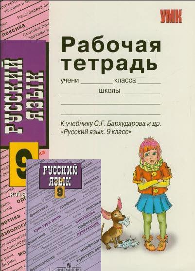 класса галунчикова по русскому языку 9 решебник